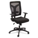 Voice™ Series Task Chair, Mesh Back, Black