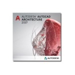 AutoCAD Architecture 2017 Government New Single-user ELD Annual Subscription with Basic Support