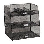 Onyx Break Room Organizer - Black