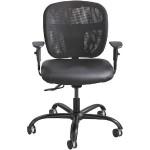 Vue™ Intensive-Use Task Chair, Mesh, Black Vinyl