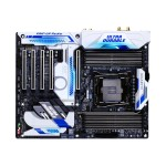GIGA-BYTE Technology GA-X99-Designare EX - 1.0 - motherboard - ATX - LGA2011-v3 Socket - X99 - USB 3.0, USB 3.1, USB-C - Bluetooth, 2 x Gigabit LAN, Wi-Fi - HD Audio (8-channel) GA-X99-DESIGNAREEX