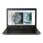 "ZBook 15 G3 Mobile Workstation - Core i7 6820HQ / 2.7 GHz - Win 7 Pro 64-bit (includes Win 10 Pro 64-bit License) - 16 GB RAM - 256 GB SSD  Z Turbo Drive G2 - 15.6"" 1920 x 1080 (Full HD) - Quadro M1000M / HD Graphics 530 - Wi-Fi, Bluetooth - space silver"