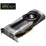 NVIDIA GeForce GTX 1080 Founders Edition 8GB GDDR5 PCIe Graphics Card