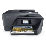 "OfficeJet Pro 6968 All-in-One Printer - Print, Copy, Scan, Fax - Up to 18ppm Black, up to 10ppm Color, 600 x 1200 dpi, 2.65"" CGD Touchscreen, Automatic Duplexing; Mobile Printing"