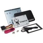 "SSDNow UV400 Desktop/Notebook Upgrade Kit - Solid state drive - 240 GB - internal - 2.5"" (in 3.5"" carrier) - SATA 6Gb/s"