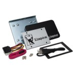 "SSDNow UV400 Desktop/Notebook Upgrade Kit - Solid state drive - 480 GB - internal - 2.5"" (in 3.5"" carrier) - SATA 6Gb/s"