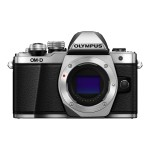 OM-D E-M10 Mark II - Digital camera - mirrorless - 16.1 MP - Four Thirds - 1080p - 3x optical zoom M.Zuiko Digital ED 14-42mm EZ lens - Wi-Fi - silver