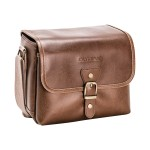 Vintage - Shoulder bag for camera and lenses - brown - for  E-PL8, PEN-F