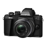 OM-D E-M10 Mark II - Digital camera - mirrorless - 16.1 MP - Four Thirds - 1080p - 3x optical zoom M.Zuiko Digital ED 14-42mm EZ lens - Wi-Fi - black