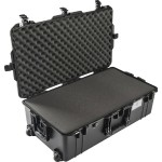 1615 Air Wheeled Check-In Case - Black, with Pick-N-Pluck Foam