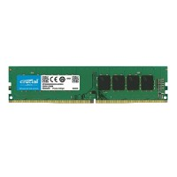 Crucial DDR4 - 8 GB - DIMM 288-pin - 2400 MHz / PC4-19200 - CL17 - 1.2 V - unbuffered - non-ECC CT8G4DFD824A