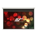 Evanesce B Series EB100HW2-E12 - Projection screen - ceiling mountable, in-ceiling mountable - motorized - 100 in (100 in) - 16:9 - MaxWhite FG - white, RAL 9003