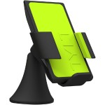 VU Wireless Charging Car Mount 3 Coil Qi Charger for Galaxy S6/Nexus 6/Droid Turbo/Lumia 920 and other Qi Phones - Green