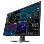 "Dell P4317Q - LED monitor - 43"" - 3840 x 2160 - IPS - 350 cd/m2 - 1000:1 - 8 ms - 2xHDMI(MHL), VGA, DisplayPort, Mini DisplayPort - speakers - black P4317Q"