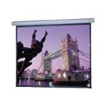 Cosmopolitan Electrol Wide Format w/ Low Voltage Control System - Projection screen - motorized - 130 in ( 129.9 in ) - 16:10 - High Contrast Matte White
