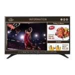"49"" Class LCD Display with TV Tuner - Digital Signage - Direct-Lit LED - 1920 x 1080 - Built-In Speakers - 300 cd/m² - HDMI - USB - VGA"