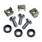 Cage Nut Set - Rack screws, nuts and washers