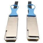 QSFP28 to QSFP28 100GbE Passive DAC Copper InfiniBand Cable (M/M), 0.5 m (20 in.)