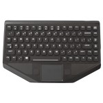BLTXR Mobile Data Keyboard - Black, 6 Ft. (3 Ft. retracted) Coiled Cord, USB