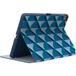 "StyleFolio iPad Pro 9.7"" - Flip cover for tablet - vegan leather - dolphin gray, deep sea blue, playa geo blueberry - for Apple 9.7-inch iPad Pro"