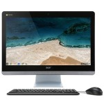 "Chromebase CA24I_Wb3215U - All-in-one - 1 x Celeron 3215U / 1.7 GHz - RAM 4 GB - SSD 16 GB - HD Graphics - GigE - WLAN: Bluetooth 4.0, 802.11a/b/g/n/ac - Chrome OS - monitor: LED 23.8"" 1920 x 1080 (Full HD)"