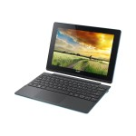 "Aspire Switch 10 E SW3-013-145P - Tablet - with keyboard dock - Atom Z3735F / 1.33 GHz - Win 10 Home 32-bit - 2 GB RAM - 64 GB eMMC + 500 GB HDD - 10.1"" IPS touchscreen 1280 x 800 - HD Graphics - black, blue"