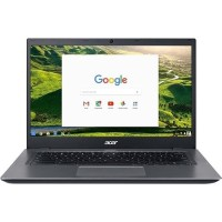 "Acer Chromebook 14 CP5-471-581N Intel Core i5-6200U Dual-Core 2.3GHz Chromebook - 8GB RAM, 32GB Flash Drive, 14"" Full HD 1920 x 1080 IPS, 802.11a/b/g/n/ac, Webcam, 3-Cell 3950mAh Li-Polymer NX.GE8AA.003"