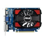 ASUS GT730-2GD3 - Graphics card - GF GT 730 - 2 GB DDR3 - PCIe 2.0 - DVI, D-Sub, HDMI GT730-2GD3