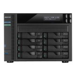 AS6208T - NAS server - 8 bays - SATA 6Gb/s / eSATA - RAID 0, 1, 5, 6, 10, JBOD - Gigabit Ethernet - iSCSI