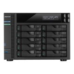 AS6210T - NAS server - 10 bays - SATA 6Gb/s / eSATA - RAID 0, 1, 5, 6, 10, JBOD - Gigabit Ethernet - iSCSI