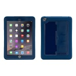 Survivor Slim - Protective case for tablet - rugged - silicone, polycarbonate - blue - for Apple iPad Air 2