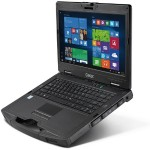 "s410 Intel Core i5-6200U Dual-Core 2.3GHz Semi Rugged Notebook - 16GB RAM, 500GB HDD, 14"" TFT LCD HD, DVD SuperMulti, Gigabit Ethernet, 802.11ac, Bluetooth, 4200mAh Li-Ion"