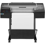 "DesignJet Z2600 PostScript - 24"" large-format printer - color - ink-jet - Roll (24 in x 150 ft) - 2400 x 1200 dpi - up to 462.9 sq.ft/hour - USB 2.0, Gigabit LAN"