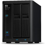 WD 4TB My Cloud PR2100 Pro Series Media Server with Transcoding, NAS - Network Attached Storage WDBBCL0040JBK-NESN