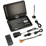 9IN HD PORTABLE DVD/TV PLAYER