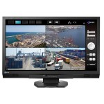 "DuraVision FDF2306W 23"" (58cm) Monitor with Real-Time Visibility-Enhancing Technology for Security and Surveillance - Black"