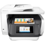 Officejet Pro 8730 All-in-One Multifunction Printer - Print, Copy, Scan, Fax - Legal (8.5in x 14in) (original), A4/Legal (media) - up to 37ppm copying, up to 36ppm printing - 250 sheets, USB 2.0, LAN, Wi-Fi, USB host, NFC
