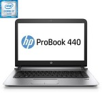 "HP Inc. Smart Buy ProBook 440 G3 Intel Core i7-6500U Dual-Core 2.50GHz Notebook PC - 16GB RAM, 256GB SSD, 14"" FHD LED, Gigabit Ethernet, 802.11a/b/g/n/ac, Bluetooth, Webcam, TPM, 4-cell 44WHr Li-Ion X9U27UT#ABA"