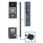 PDU 3-Phase Accessory Strip 8.6/12.6KW 208V 51 C13 ATS 0URM