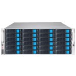 96TB EliteNAS - 4U 24 Bay 12G SAS Hardware RAID 6 NAS + iSCSI Server