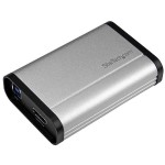 StarTech USB 3.0 Capture Device for High-Performance HDMI Video - 1080p 60fps - Aluminum USB32HDCAPRO