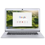 Acer CHROMEBOOK 14, ALUMINUM, 14-INCH FULL HD, INTEL CELERON QUAD-CORE N3160, 4GB LPDDR3, 32GB, CHROME, CB3-431-C5FM CB3431C5FM