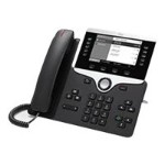 IP Phone 8811 - VoIP phone - SIP, RTCP, RTP, SRTP, SDP - 5 lines - charcoal