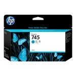 745 - 130 ml - cyan - original - DesignJet - ink cartridge - for DesignJet Z2600 PostScript, Z5600 PostScript