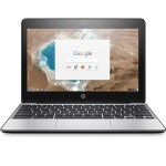 "HP Inc. Chromebook 11 G5 - Celeron N3060 / 1.6 GHz - Chrome OS - 2 GB RAM - 16 GB eMMC - 11.6"" TN 1366 x 768 ( HD ) - HD Graphics 400 - 802.11ac, Bluetooth X9U01UT#ABA"