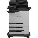 CX820dtfe Color Laser Multifunction Printer with CAC Enablement, 4-Year Onsite Repair & Air Force Code (TAA Compliant)