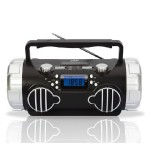 Technical Pro Portable Battery-Powered BT Speaker with USB / SD / TF BX4