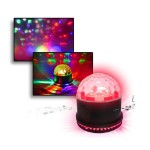 Magnetic Party Starburst Light with Built in Speaker