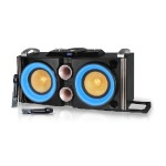 "Technical Pro Double 10"" BT LED speaker with Dual Wireless Mics BS2GO10"