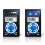 Bluetooth Stage Speaker System with Party lights